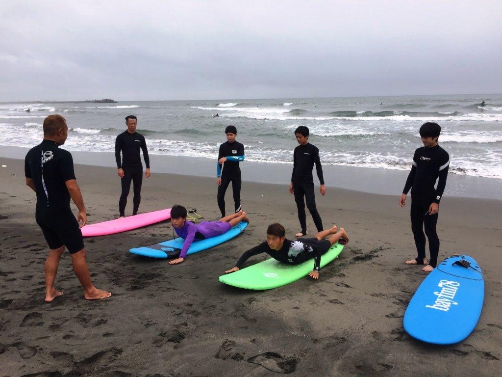 サーフィン体験レッスン,CHP,千葉一宮町,九十九里浜