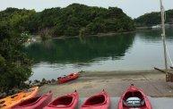 夏休みアクティビティ① シーカヤックに初挑戦!! 和歌山 田辺湾で海上散歩を楽しみました~