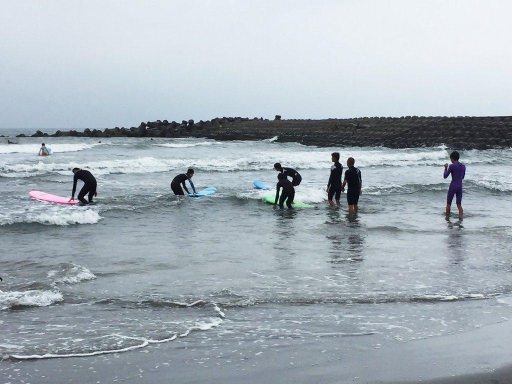 サーフィン体験レッスン,CHP,千葉一宮町,マンツーマンレッスン