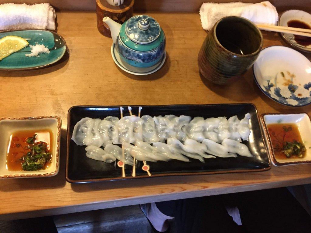 江戸勘,お寿司,千葉,袖ヶ浦,タコの薄作り