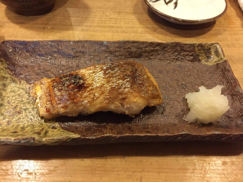 江戸勘,お寿司,千葉,袖ヶ浦,のど黒の塩焼き