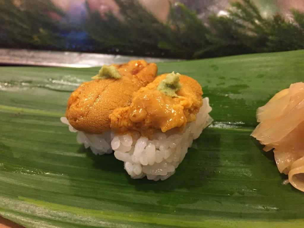 江戸勘,お寿司,千葉,袖ヶ浦,ウににぎり