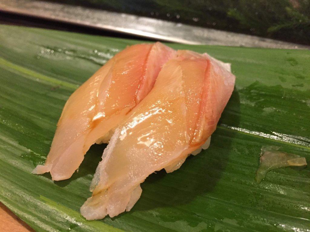 江戸勘,お寿司,千葉,袖ヶ浦,イサキ