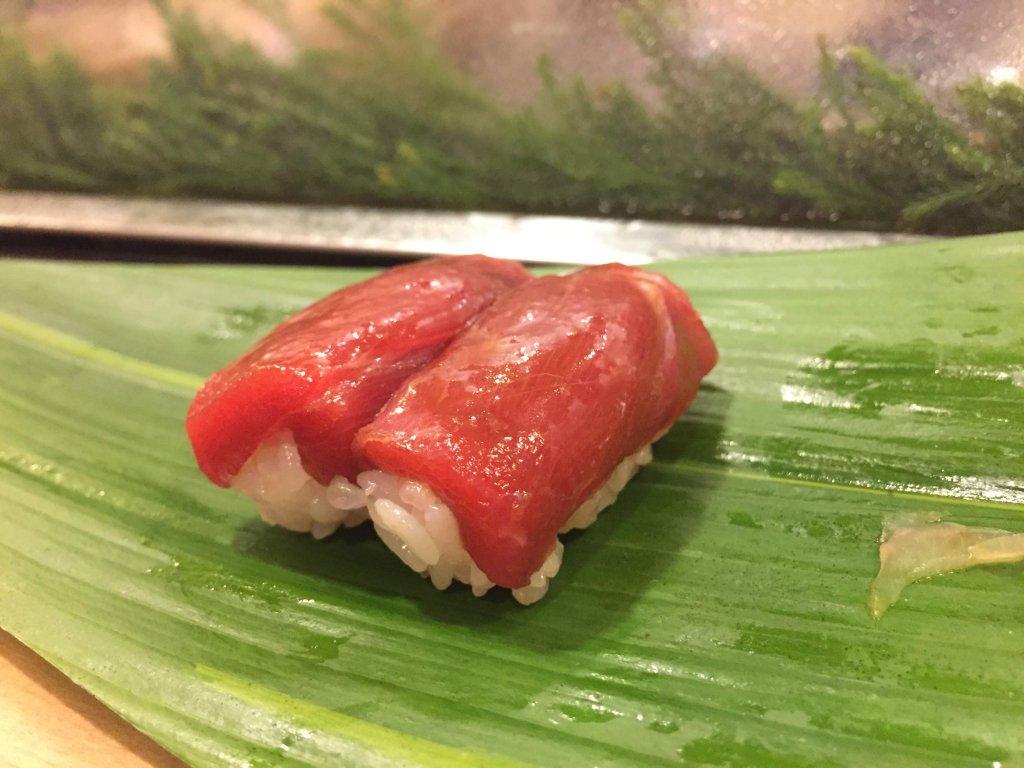江戸勘,お寿司,千葉,袖ヶ浦,マグロ赤身
