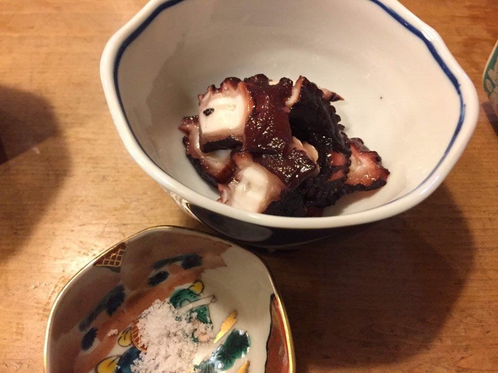 江戸勘,お寿司,千葉,袖ヶ浦,タコの旨煮