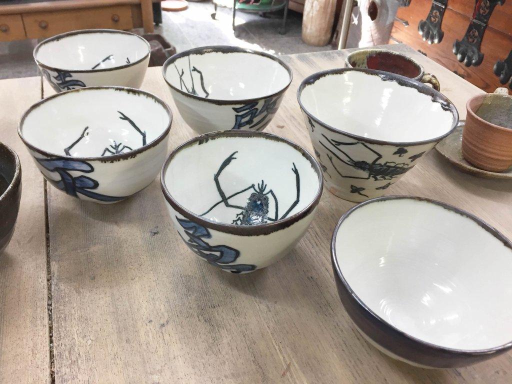 陶芸,陶芸教室,作品,プレゼント,お茶碗,大皿