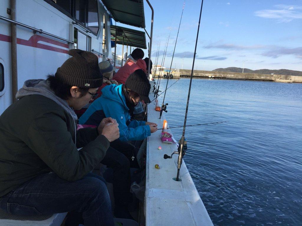カワハギ釣り,和歌山,加太,三邦丸,船カワハギ,釣り座