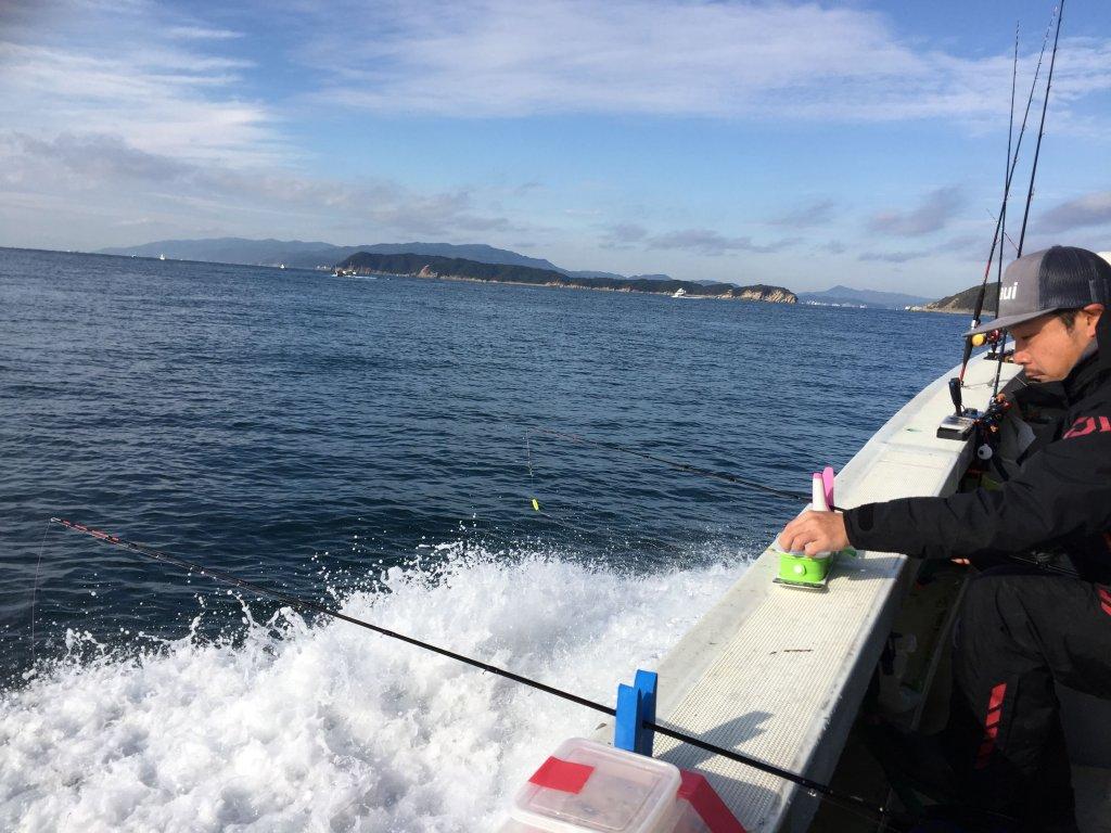 カワハギ釣り,和歌山,加太,三邦丸,船カワハギ,友が島周辺のポイント