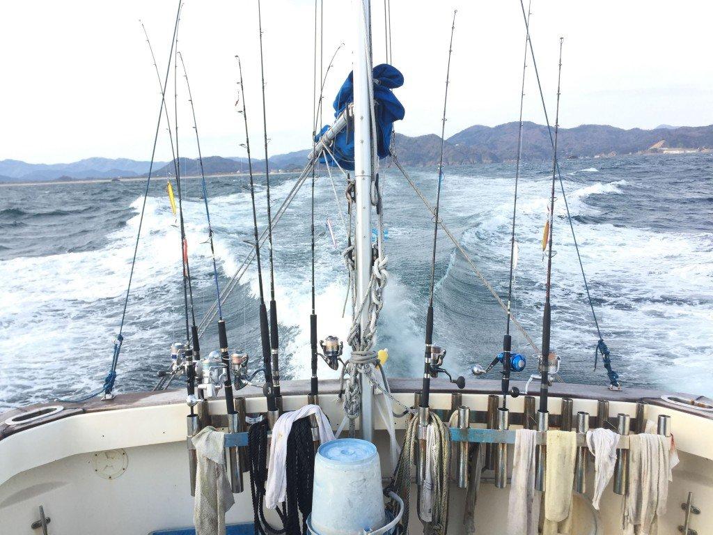 ジギング,日本海,網野沖,久美浜沖,鰤