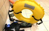 暴発してしまった自動膨張式救命具のボンベを交換したよ!