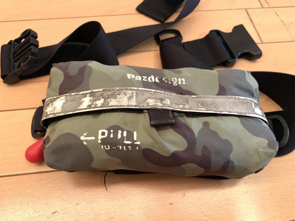自動膨張式ライフジャケット,修理,自動膨張式,ライフジャケット,ウェストポーチ