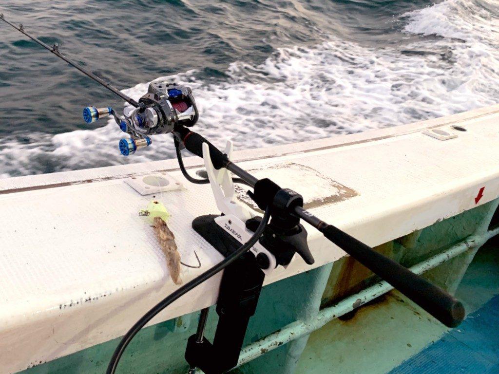 ライトホルダー,160CH,ダイワ,船べり用ロッドホルダー
