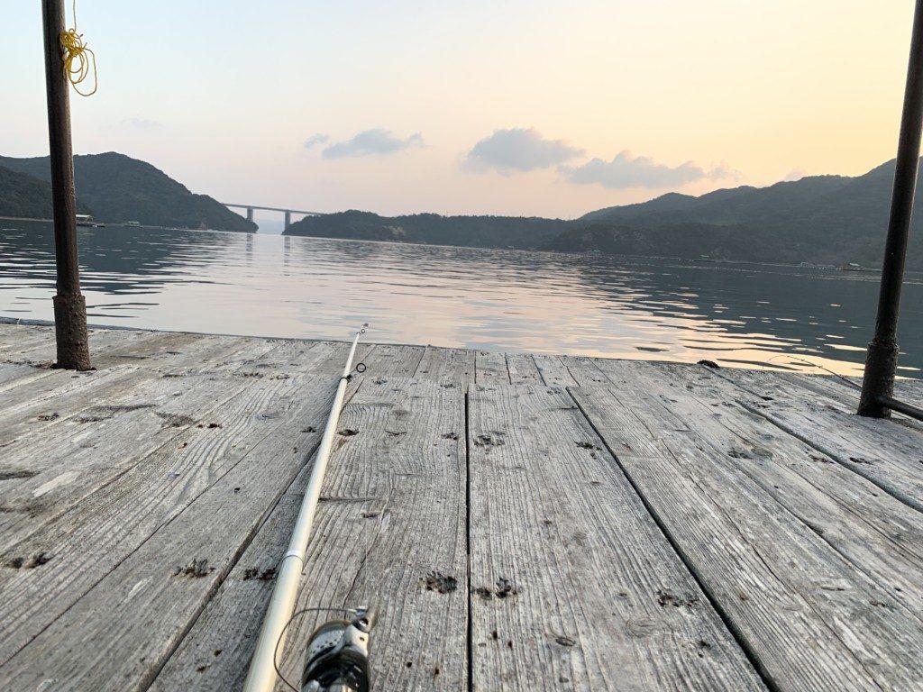 カレイ釣り,筏,鳴門,堂浦,ウチノ海,中野一渡船