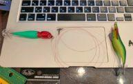 エステルラインでイカメタル仕掛けを簡単に自作してみた【三又サルカン】