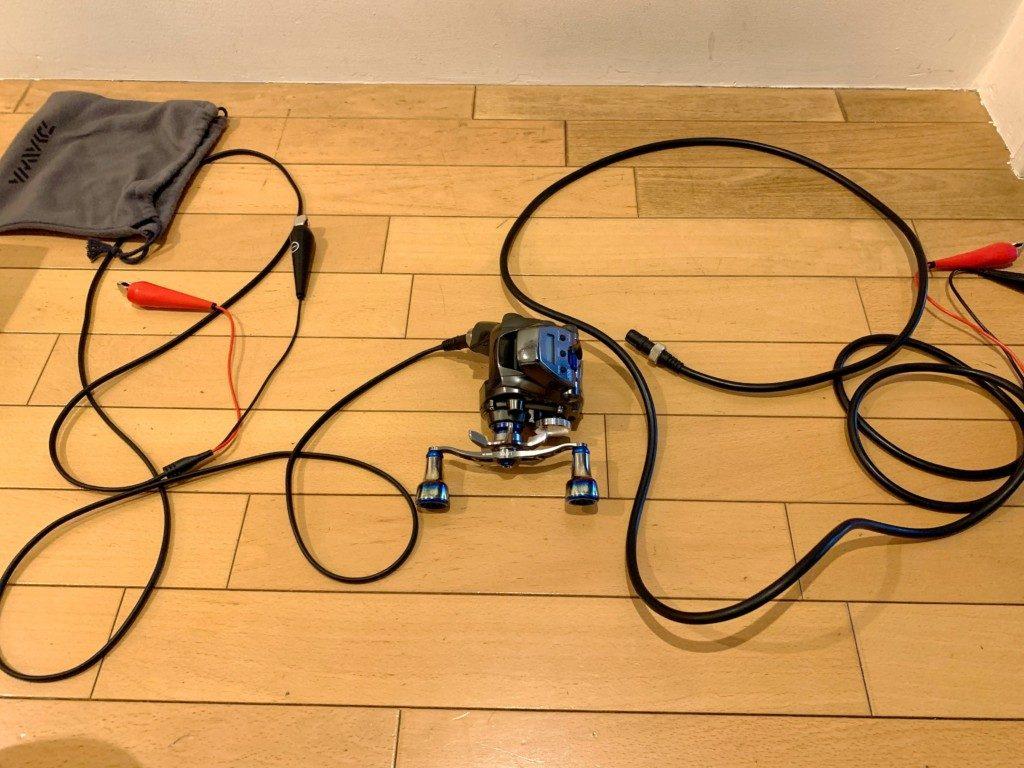 スーパーAIRコード,ダイワ,電動リール用コード,SLPW