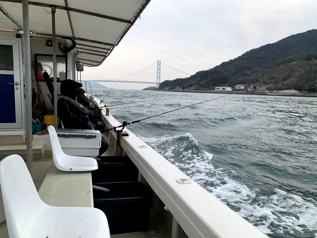 筏カレイ,鳴門,堂浦,中野一渡船