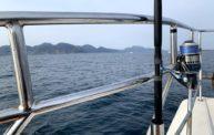 ブリ祭りの会場(海上)だったはずのジギング@京丹後